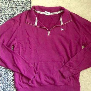 VS pink sweatshirt